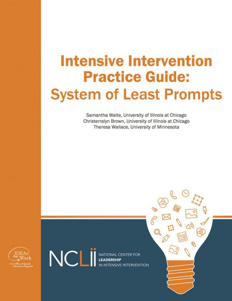 Practice Guide for System of Least Prompts